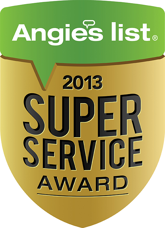 angis list super service 2013 award